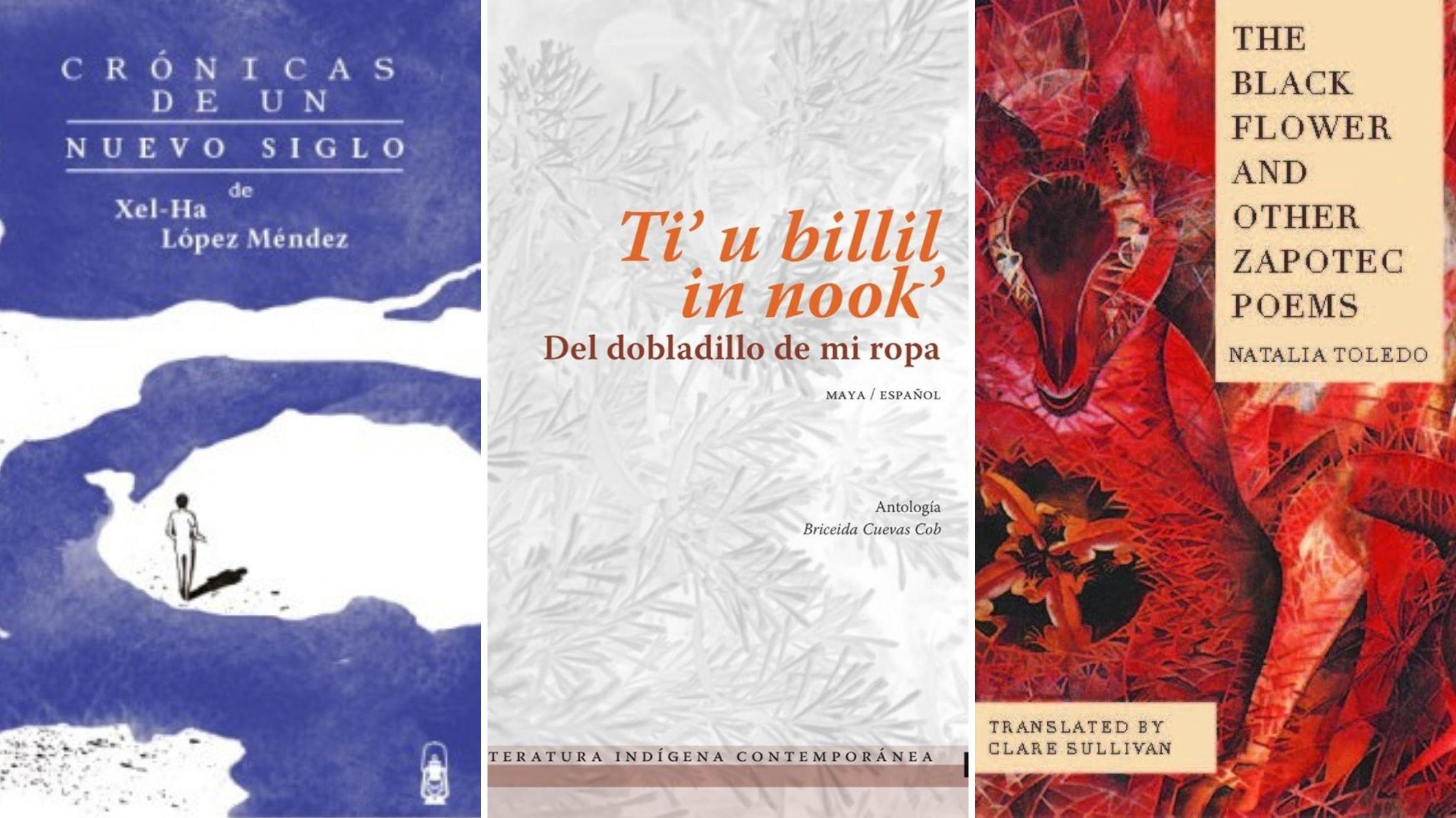 Covers: The Black Flower, Ti'ú billil in nook, Xel-Ha Rodriguez
