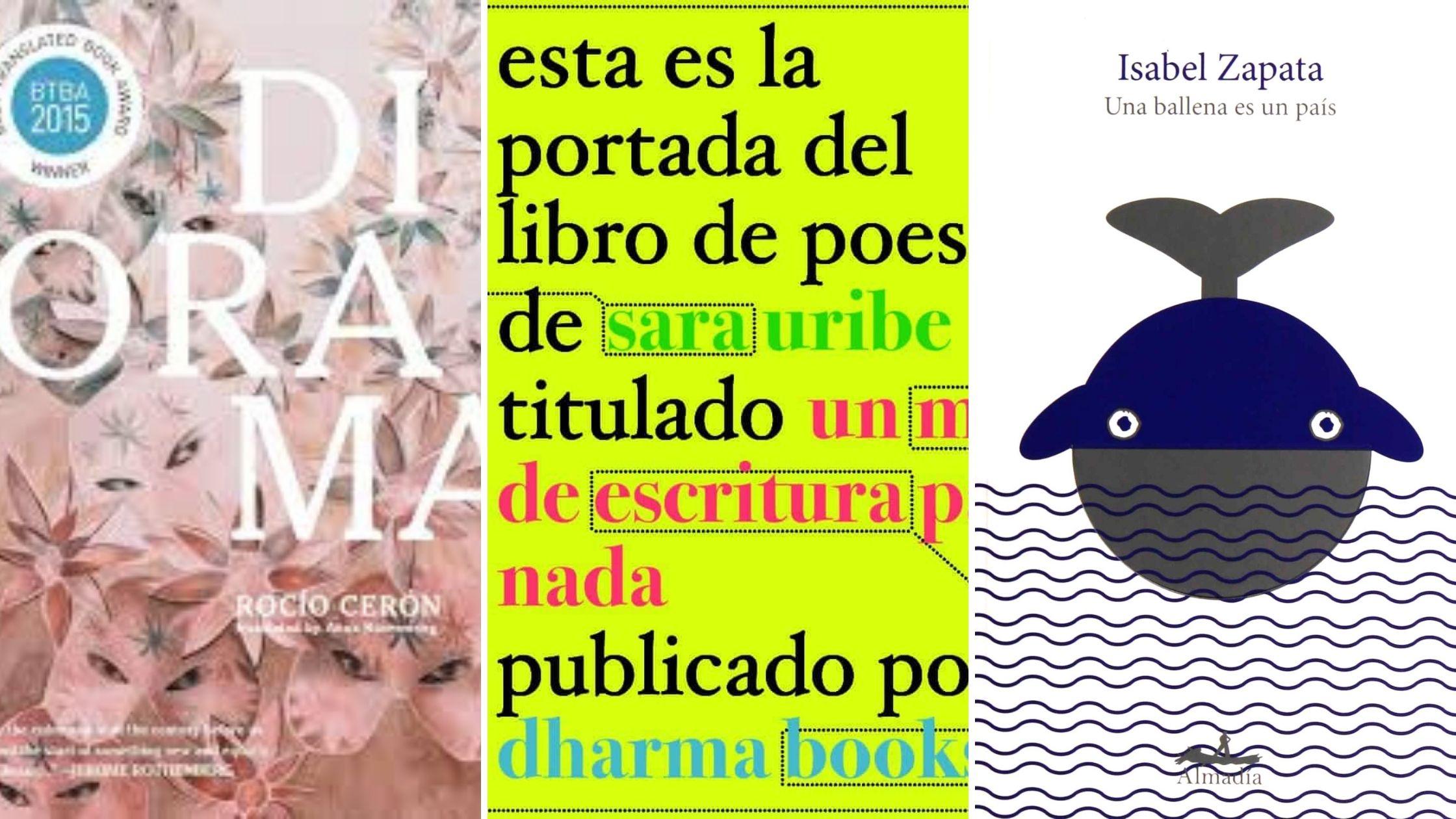Covers: Diorama, Sara Uribe, Una ballena no es un pais